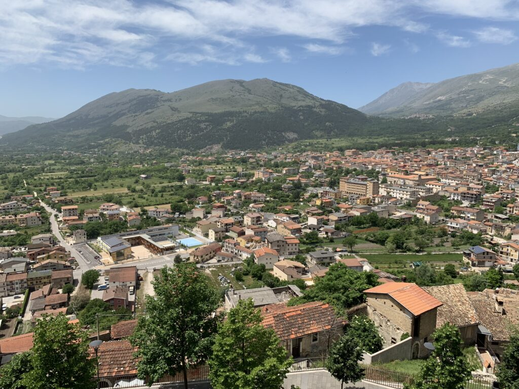 Vista dal Castello Piccolomini