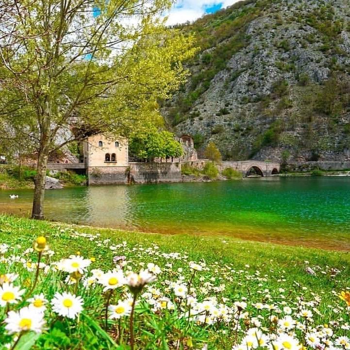 Lago di San Domenico - Villalago (AQ)