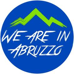 logo we are in abruzzo