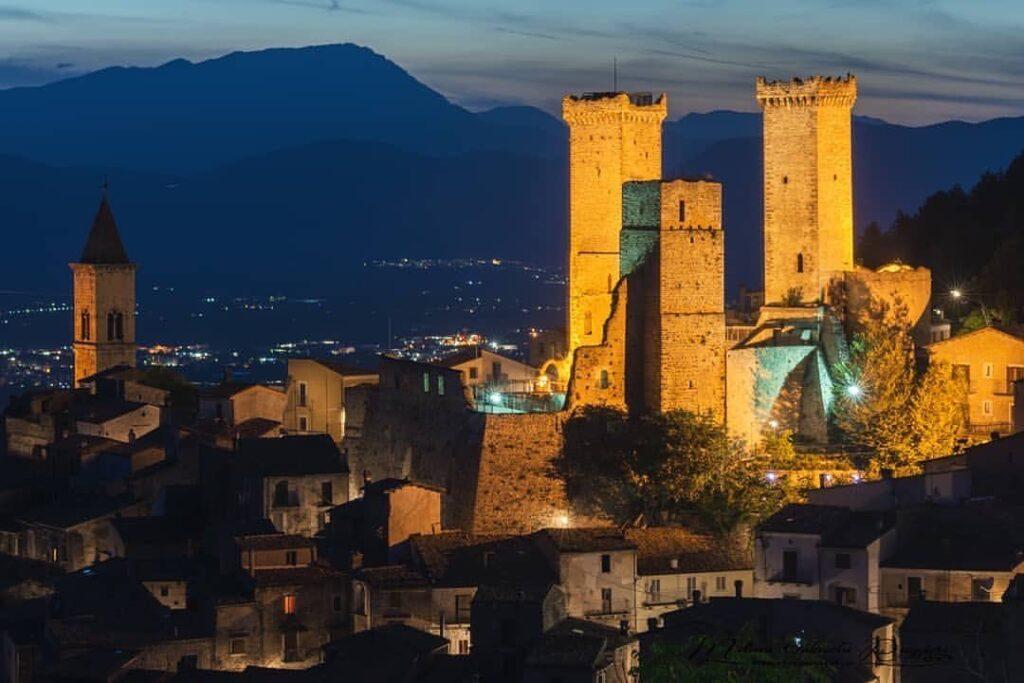 Castello Caldora - Speciale Castelli D'Abruzzo - Pacentro (AQ)